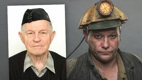 Skutečný Milan Šlachta a Marek Taclík, který stejnojmenou postavu hraje v Dukle 61.