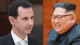 Syrský prezident Asad by se rád sešel se severokorejským vůdcem Kim Čong-unem.
