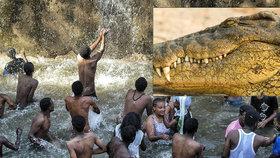 V Etiopii při pobožnosti v jezeře zabil kněze krokodýl.