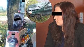 Řidička Simona (20) dostala za smrt tří kamarádů tři roky ve vězení.