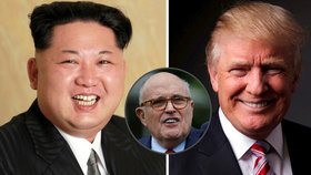 Trumpův právní poradce Rudy Giuliani uvedl, že Kim žadonil o setkání s prezidentem USA.