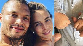 Jeremy Meeks a dědička Chloe Green přivítali v květnu na svět prvního syna.