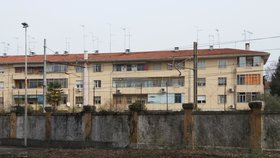Uprchlický tábor, Udine, Itálie
