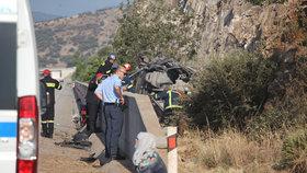Na severu Řecka havarovala dodávka převážející uprchlíky. 6 z nich zemřelo, mezi nimi i tři děti