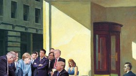 Neuvolnilo by napjatou atmésféru příjemné prostředí kavárny zachycené americkým malířem Edwardem Hopperem?