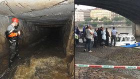 V Motolském potoku našli smrt 4 lidé