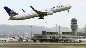 Letadlo United Airlines