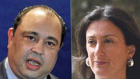 Silvio Valletta, vyšetřovatel vraždy maltské novinářky, kvůli střetu zájmů končí.