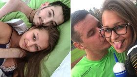 Simona se svým novým přítelem, fotbalistou Tonnym. Podle dívky jí ho poslal Peťka z nebe.