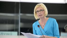 Česká europoslankyně Kateřina Konečná