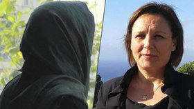Italská poslankyně Piera Aiellová po 15 letech odhalila svou tvář.