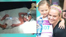 Ella se po narození vešla do dlaně