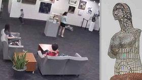 Chlapec omylem rozbil sochu za 132 tisíc dolarů!