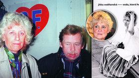 Exprezidentova láska Vodňanská: Havel se chtěl rozvést! 13 let se zmítal mezi manželkou a milenkou