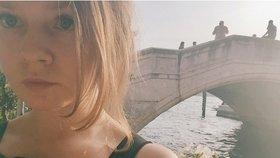 Na dovolené v Benátkách.
