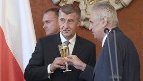 Babiš podruhé premiérem: Jmenování Milošem Zemanem, který tak prý splnil svůj slib