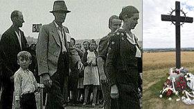 V neděli byl na Přerovsku vztyčen pomník poválečného masakru 265 civilistů ze Slovenska.