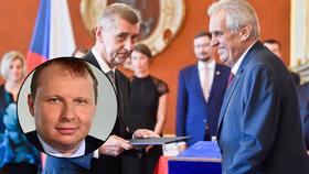 Miroslav Poche (ČSSD) čelí kritice ze strany prezidenta Zemana i premiéra Babiše