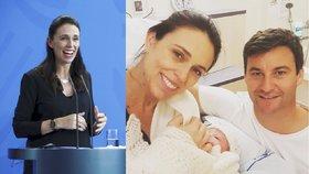 Novozélandská premiérka Jacinda Ardernová porodila holčičku, váží 3,31 kila