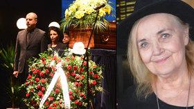 PŘÍMÝ PŘENOS: Pohřeb Gabriely Vránové (†78), slavné Aničky z Chalupářů!