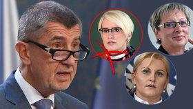 Andrej Babiš odtajnil jména ministrů. Šlechtová končí, vsadil na dvě nové ženy - Taťánu Malou a Martu Novákovou