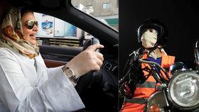 Saúdky smí od neděle 24. června oficiálně za volant.