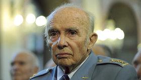 Válečný veterán Pavel Vranský, který bojoval na různých bojištích druhé světové války.