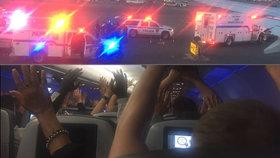 Pilot v New Yorku omylem nahlásil »únos letadla«. Do letadla vtrhla zásahovka
