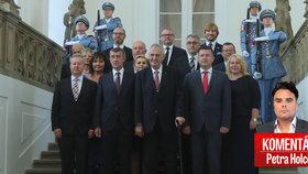 Druhá vláda Andreje Babiše (ANO), prezident Miloš Zeman a komentář Petra Holce