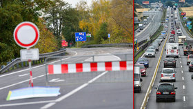 Omezení v dopravě jsou snad všude, kam se podíváte! Blesk zmapoval hlavní tahy...