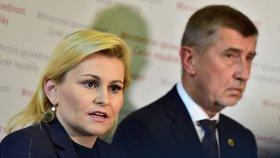 Andrej Babiš uvedl ministryni spravedlnosti Taťánu Malou do úřadu. (29.6.2018)