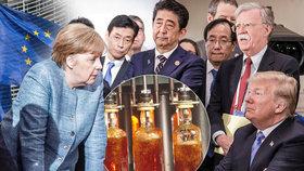 Obchodní válka USA a Evropy.