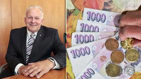 Důchody v Česku porostou, slibuje ministr Petr Krčál (ČSSD).