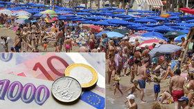 Rekordní pokles koruny vůči euru
