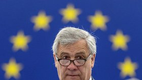 Předseda Evropského parlamentu Antonio Tajani (3.7.2018)