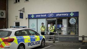 Britská policie v Amesbury