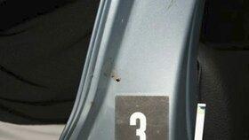 Stopy pneumatik policii dovedli k vrahovi.