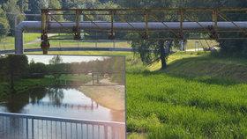 Řeka Jihlava zcela zmizela, zarostla travou!