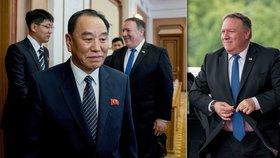 Americký ministr zahraničí Mike Pompeo přiletěl do KLDR vyjednat detaily denuklearizace. Debatovat bude s Kimovým hlavním poradcem, generálem Kim Jong-čcholem.