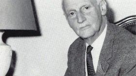 Otec Anny Frankové Otto jako jediný z rodiny přežil nacistický holocaust