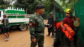 Thajsko začalo se záchranou dvanácti mladých fotbalistů a jejich trenéra. Dochází jim čas