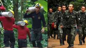 Čtyři mladí fotbalisté jsou venku z jeskyně, záchranná operace bude pokračovat ráno.