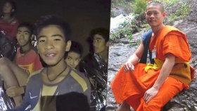 Trenér 12 chlapců uvězněných v thajské jeskyni Ekkapol Čantawong