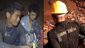 Záchranáři dnes vytáhli ze zatopeného jeskynního komplexu na severu Thajska celkem čtyři chlapce, kteří jsou nyní v nemocnici stejně jako jejich čtyři kamarádi, kteří byli zachráněni už v neděli. Poslední čtyři chlapci a jejich fotbalový trenér v jeskyni zatím zůstávají (9.7.2018).