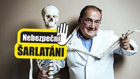 Šarlatán Ian Sulla (58) alias Jan Šula: Vědkyni s rakovinou Neošulil!