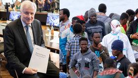 Německý ministr vnitra Horst Seehofer představil nový plán pro zvládání migrační krize.