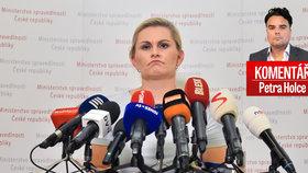 Taťána Malá vydržela ministryní 13 dní. Jak vidí její konec Petr Holec?