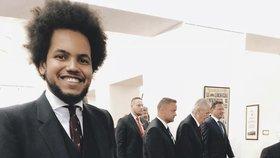 Dominik Feri ve Sněmovně: Prezident Zeman přišel hájit Babišovu druhou vládu. Na Feriho druhé narozeniny