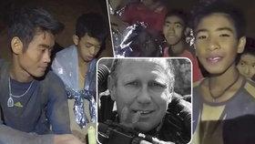 Hrdinského činu syna se už nedočkal: Otec lékaře-hrdiny, který pomohl zachránit fotbalový tým v Thajsku, zemřel chvíli po úspěšném konci mise.