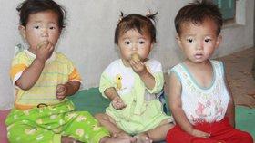 Podle úředníka OSN je každé páté dítě v KLDR podvyživené